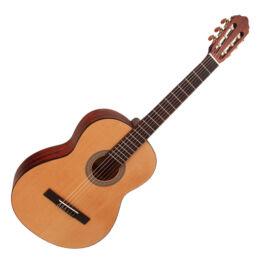 Cort AC100DX-OP klasszikus gitár deluxe, matt natúr + Választható ajándék