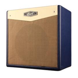 Cort CM15R-DB gitárerősítő zengetővel, 15 Watt, sötétkék
