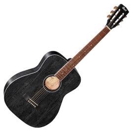 Cort AF590MF-BOP akusztikus folkgitár elektronikával, fekete