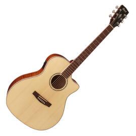 Cort GA-FF-NAT akusztikus gitár elektronikával, natúr