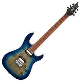 Cort KX300-OPCB el.gitár, kobaltkék burst