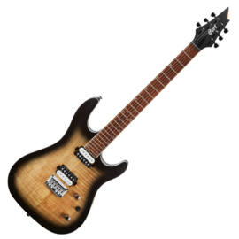 Cort KX300-OPRB el.gitár, nyers burst