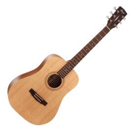 Cort Earth50-OP akusztikus gitár, Easy Play, natúr