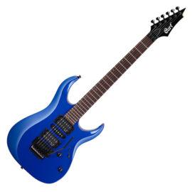 Cort X250-KB el.gitár, EMG PU, kék