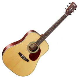 Cort Earth80-NAT akusztikus gitár, natúr
