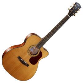 Cort Gold-OC6 with case el.akusztikus gitár, All solid, natúr