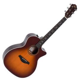 Sigma GTCE-2-SB Plus akusztikus gitár elektronikával, sunburst