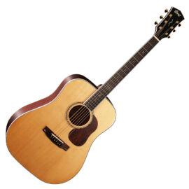 Cort Gold-D8-NAT with case akusztikus gitár, All solid, natúr