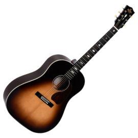 Sigma SJM-SG45 akusztikus gitár elektronikával, sunburst
