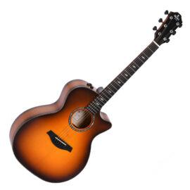 Sigma GACE-3-SB akusztikus gitár eletronikával, flameburst