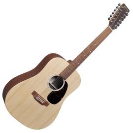 Martin D-X2E-12strings akusztikus gitár elektronikával, 12 húros
