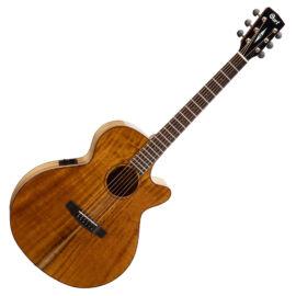 Cort SFX-Myrtlewood-NAT akusztikus gitár EQ-val, amerikai babér