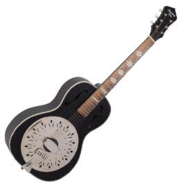 Recording King RPH-R2-MBK fatestű rezonátoros gitár