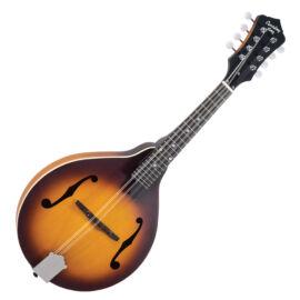 Recording King RAM-3-TS A-style mandolin, Tobacco Burst