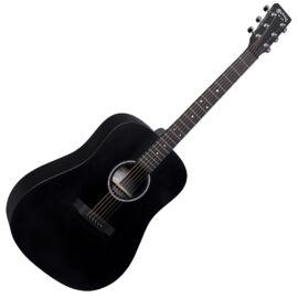 Martin D-X1E-02 Black akusztikus gitár elektronikával