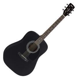 Cort AD810E-BKS akusztikus gitár elektronikával, matt fekete
