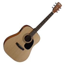 Cort AD810E-OP akusztikus gitár elektronikával, matt natúr + Választható ajándék