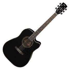 Cort AD880CE-BK akusztikus gitár elektronikával, fekete
