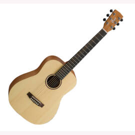 Cort EarthMini-OP mini akusztikus gitár, tokkal, natúr