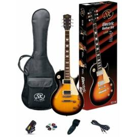 SX SE3 Electric Guitar Kit Vintage Sunburst
