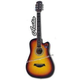 AUSTIN AW-38 SB, 3/4-es cutaway akusztikus gitár