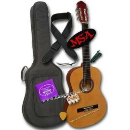 MSA C-22, 4/4-es klasszikus gitár szett 2