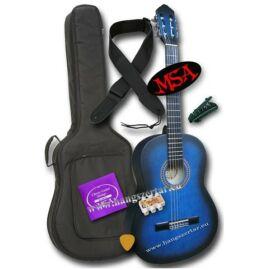 MSA MI-39 BL, 4/4-es klasszikus gitár szett 2