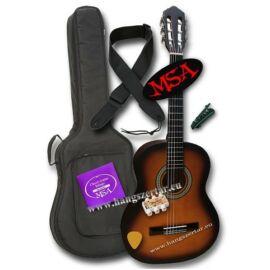 MSA MI-39 SB, 4/4-es klasszikus gitár szett 2