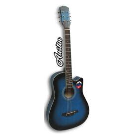 AUSTIN AW-38 BL – 3/4-es cutaway akusztikus gitár