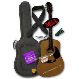 MSA CW-200 akusztikus gitár szett 2