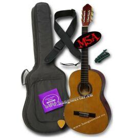 MSA CK-116 L, balkezes 4/4-es klasszikus gitár szett 2
