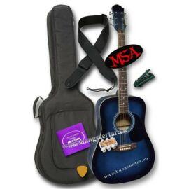 MSA CW-185 akusztikus gitár szett 2
