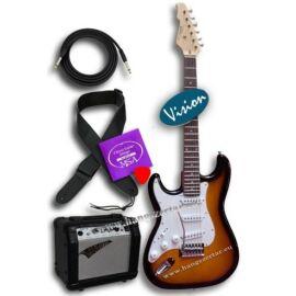 Vision ST-5 L SB balkezes elektromos gitár szett 4