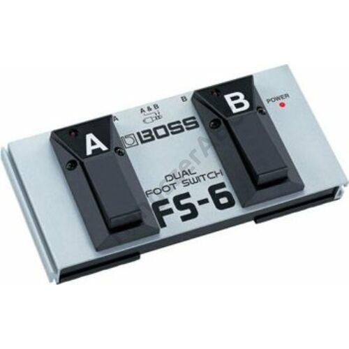 Boss FS-6 LED-es iker lábkapcsoló