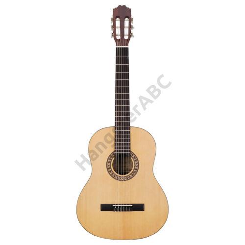 TC902MT - 4/4-es szatén klasszikus gitár fenyő fedlappal
