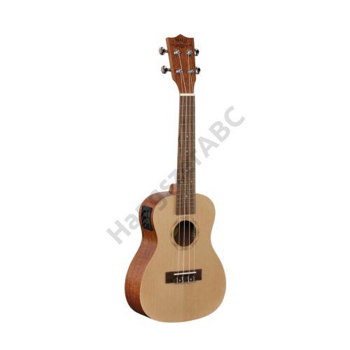 MPUKA-120AE - MAUI PRO elektroakusztikus koncert ukulele tokkal (lucfenyő fedlappal)