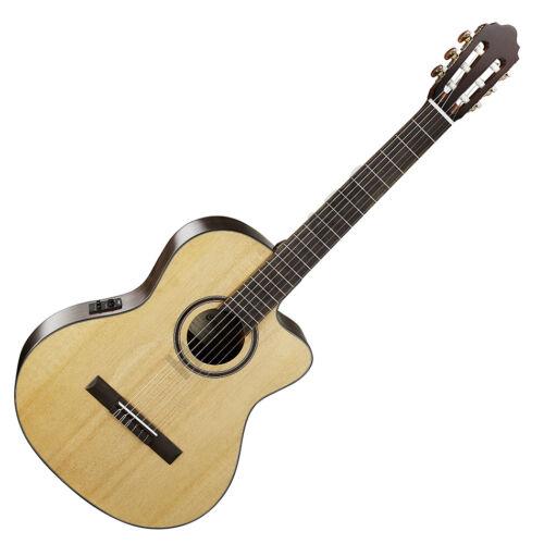 Cort AC160CF-NAT klasszikus gitár elektronikával, natúr