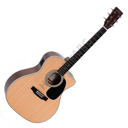 Sigma JMC-1STE Plus Jumbo akusztikus gitár elektronikával