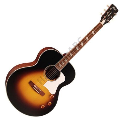 Cort CJ-Retro-VSM akusztikus gitár elektronikával, vintage sunburst