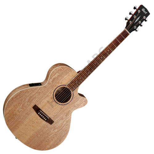 Cort SFX-AB-OP akusztikus gitár EQ-val, Ash Burl, natúr