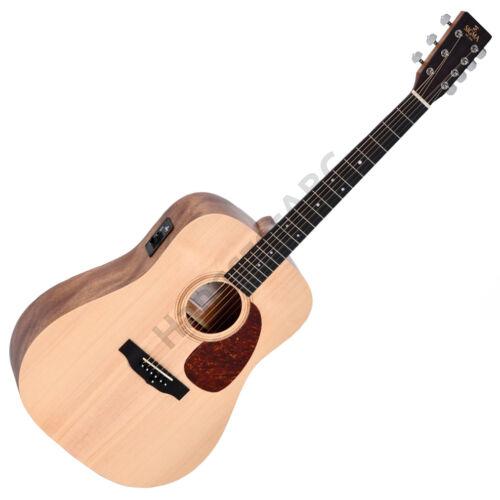 Sigma DM7E DM akusztikus héthúros gitár elektronikával