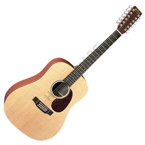 Martin D12X1AE akusztikus gitár, 12 húros, elektronikával