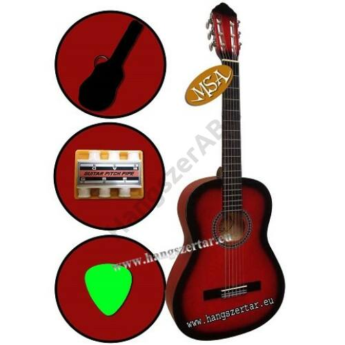MSA C-24, 4/4-es klasszikus gitár szett