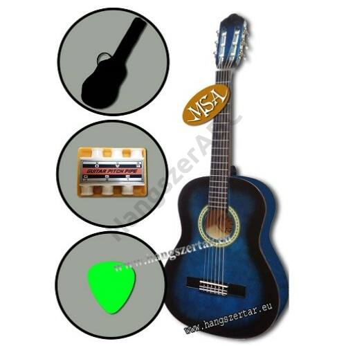 MSA J-2 L, 1/2-es balkezes klasszikus gitár szett