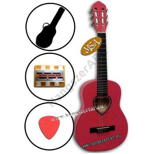 MSA K-6 – 1/4-es klasszikus gitár szett 1