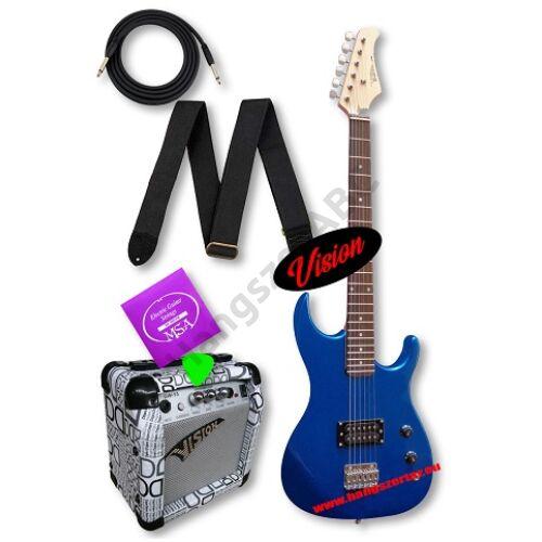 Vision ST-4 BL 3/4-es elektromos gitár szett 3