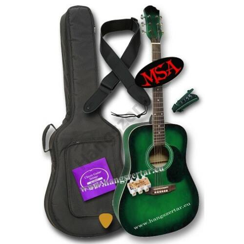 MSA CW-180 akusztikus gitár szett 2