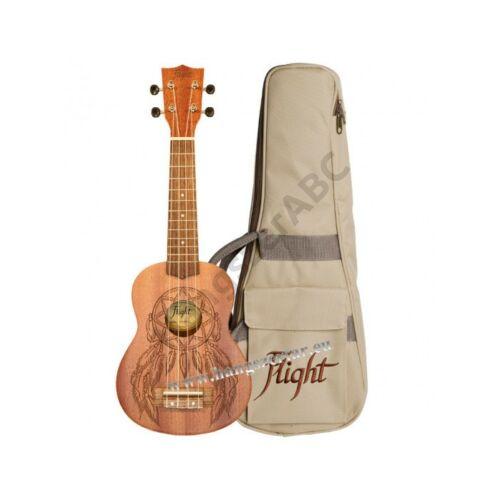 Flight NUS-350 NAT szoprán ukulele